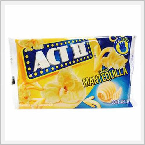Popcorn Act II Butter Flavor (3 Pack/240 g)