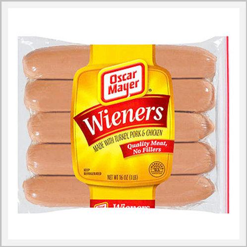 Oscar Mayer Hot Dogs (1 pkg/10 pcs)