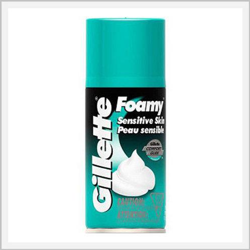 Gillette Sensitive Skin Foam Shaving Cream (322 g)