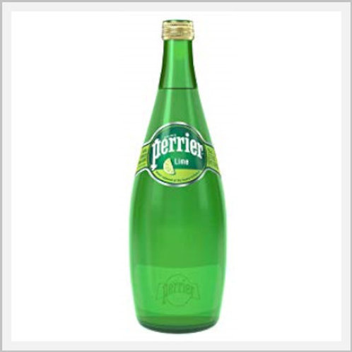 Perrier Sparkling Mineral Water Lime Flavor (4/330 ml)