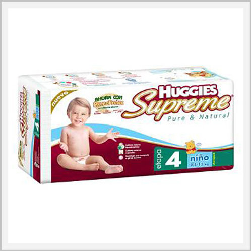 Huggies Supreme Diapers Stage 4 Boys (36 count)