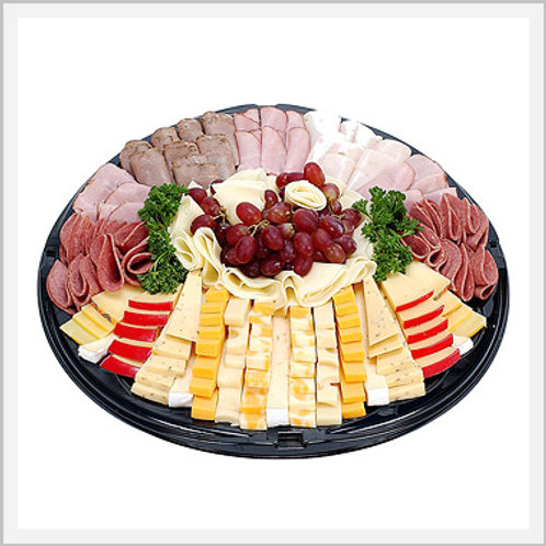 Deli Meat, Fruit & Cheese Tray (for 6-8 people)
