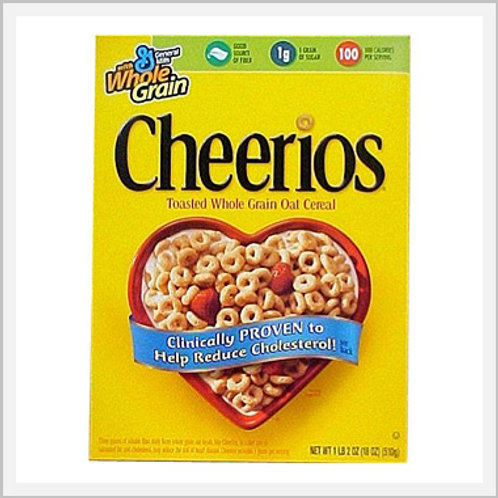 Cereal Cheerios Wheat Oats (340 g)