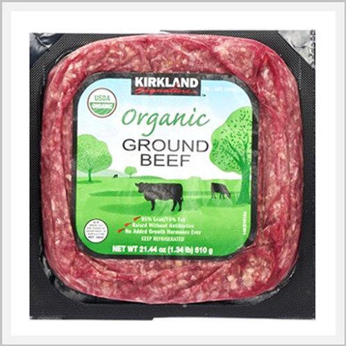 Kirkland Organic Lean Ground Beef (500 g)
