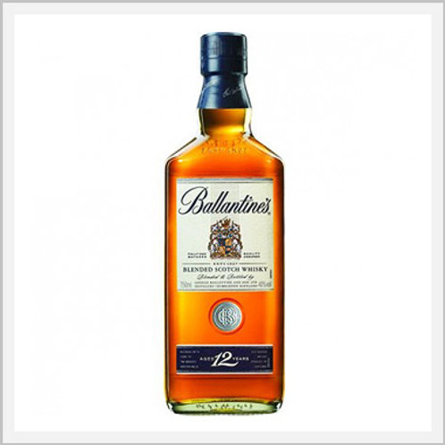 Ballantines Blended Scotch Whiskey 12 Years (750 ml)