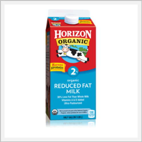 Organic Reduced Fat Milk (1.89 lt)