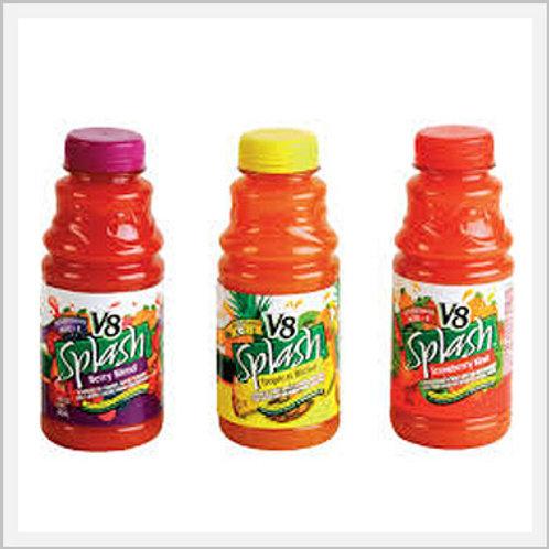 Campbell's Juice V8 Splash assorted (12/413 ml)