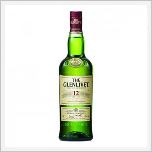 Glenlivet Whiskey 12 Years (750 ml)