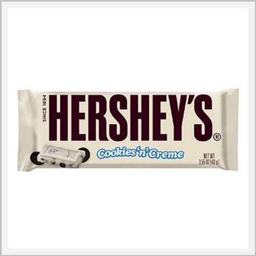 Hershey's Cookies N Cream Bars (6 Pack/258 g)