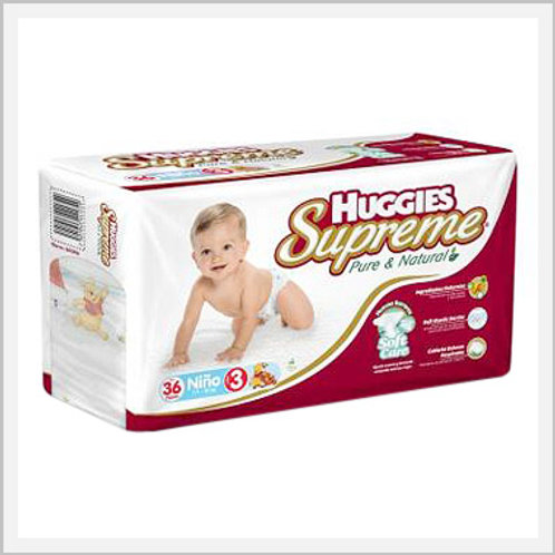 Huggies Supreme Diapers Stage 3 Boys (36 count)