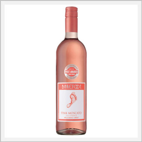 Barefoot Pink Moscato (750 ml)