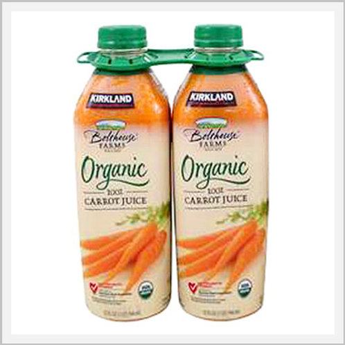 Carrot Juice Organic (2/946 ml)