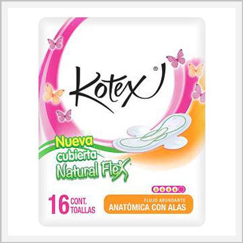 Kotex Sanitary Napkins With Wings Super