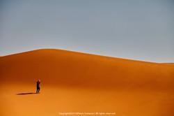 Somewhere in Sahara Desert