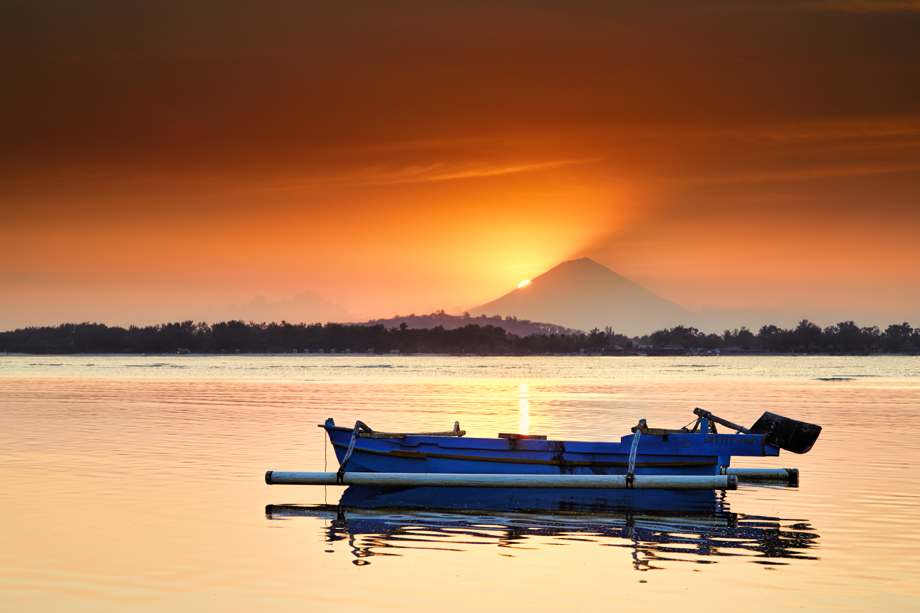 Sunset, Indonesia