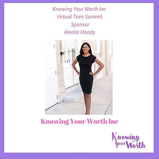 Thank you Aleeka Moody for supporting @k