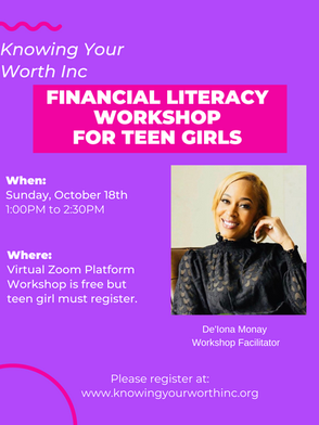 Knowing Your Worth Financial Literacy Workshop