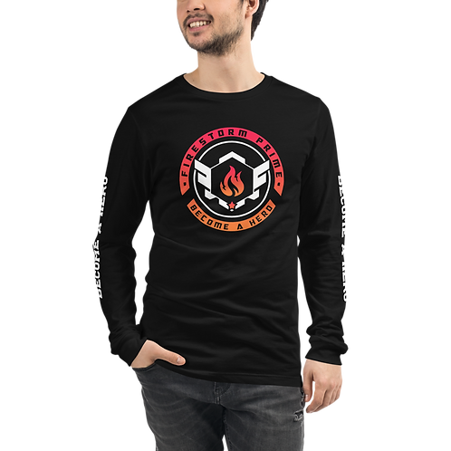 Firestorm Prime Logo Crest Lightweight Long Sleeve Tee