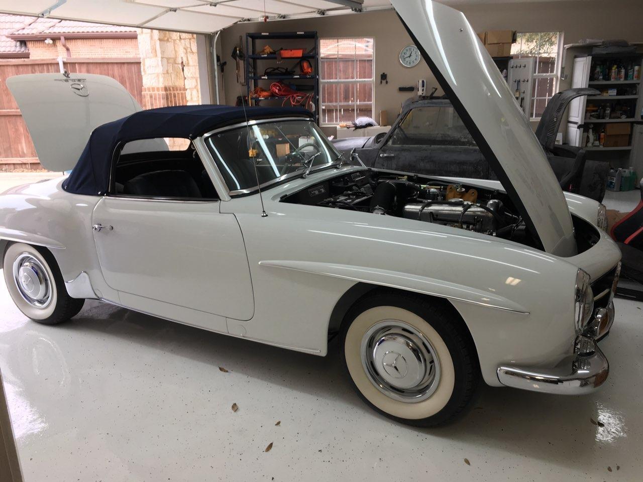 1956 Mercedes 190SL