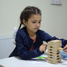 Malen und Lernen im Gemeinschaftszentrum Contemir