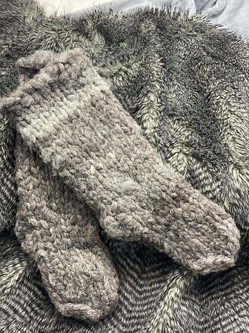 Prairie Wool Rawknitts - Big Socks
