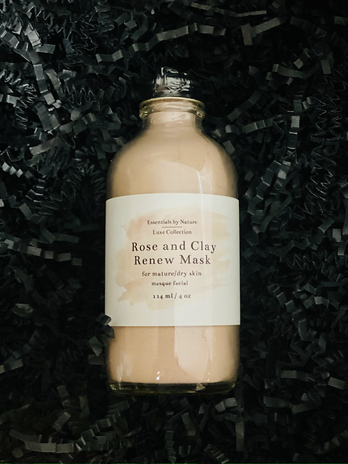 Rose and Clay Renew Mask