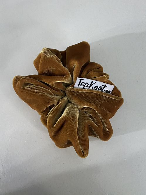 The Golden Velvet Scrunchie