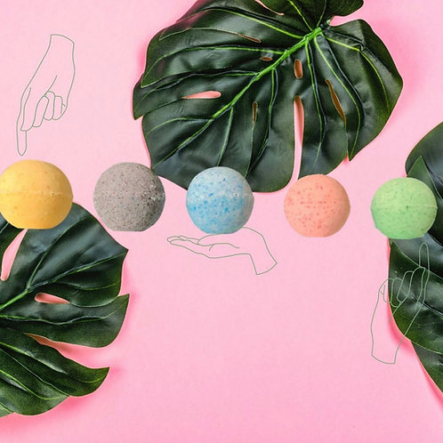 BLISSED OUT Bathbombs - OG 5 Pack
