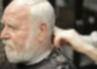 male barber for elderly