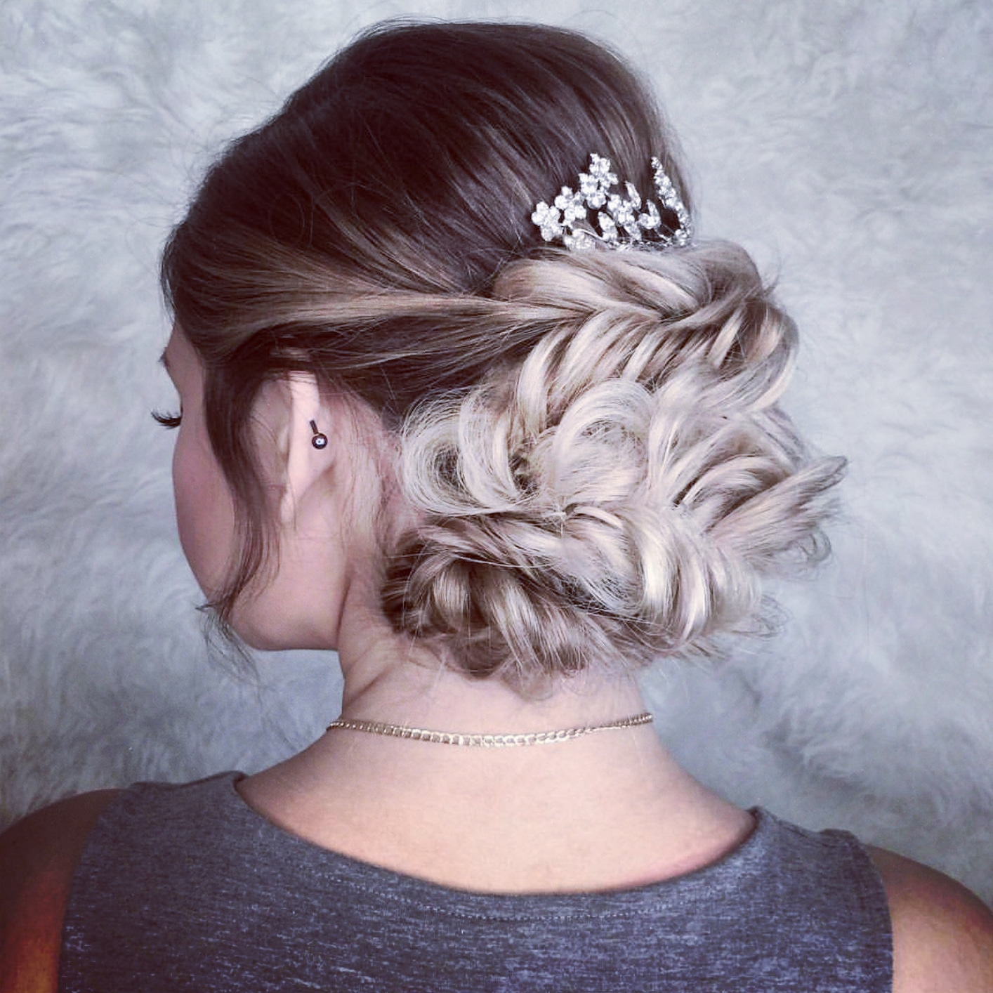 plaited wedding hairstyles