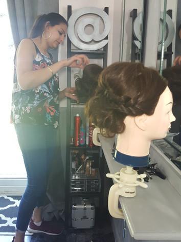 hairdressing training west midlands glam