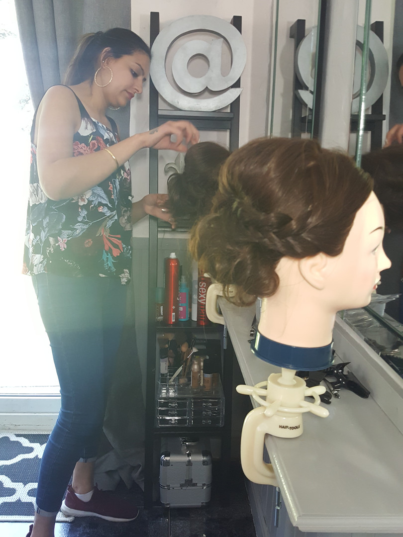 hairdressing training west midlands glam