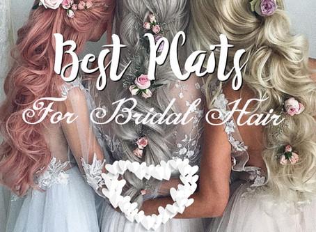 Best Plaits For Stunning Wedding Hair