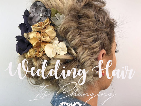 Are Wedding Hair Fashions Changing?