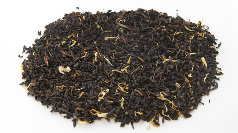 peach & passion fruit black tea | 2oz