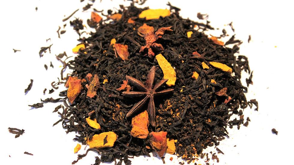 organic turmeric thai tea w/ black assam