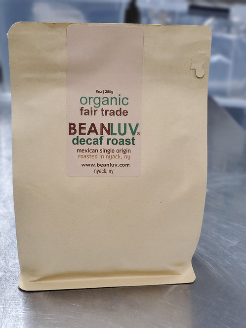 Organic Decaf Swiss Water Process (WHOLE BEANS) 8oz