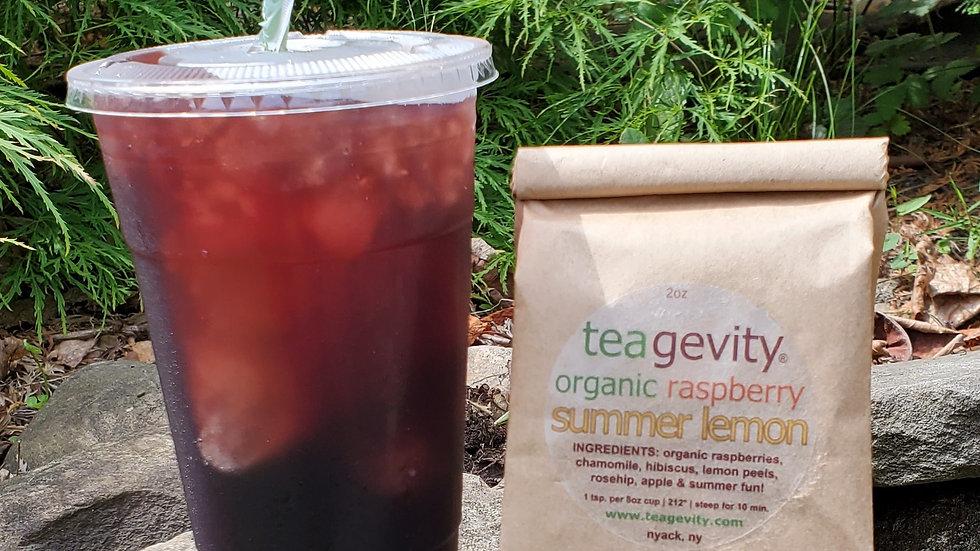 Organic Raspberry Summer Lemon