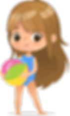 Peach girl with beach ball.png
