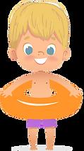 Peach boy with orange innertube.png