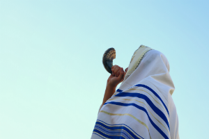 The blast of the shofar and victory over sin