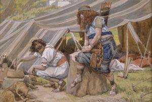 """""""The Mess of Pottage"""" by James Jacques Joseph Tissot (Image: Wikimedia Commons)"""