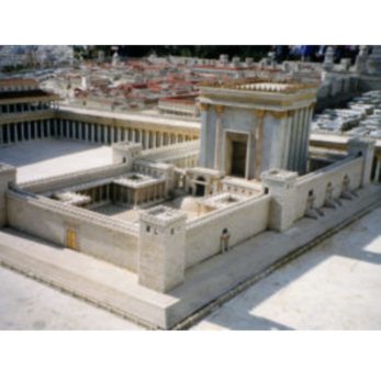 Model of the Temple in Jerusalem (Wikimedia Commons)