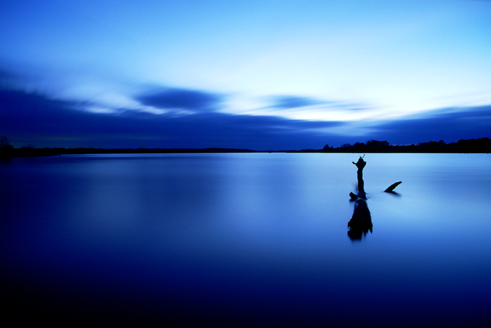 Tranquility in Blue