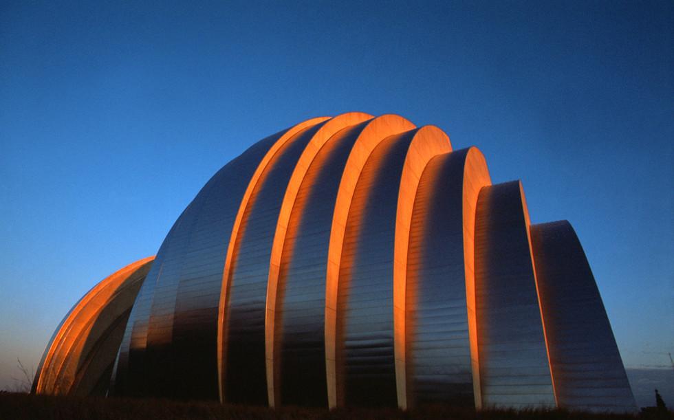 Kauffman Center Sunset