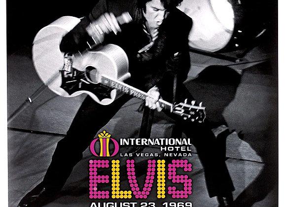 Elvis – The International Hotel, Las Vegas, Nevada, August 23, 1969
