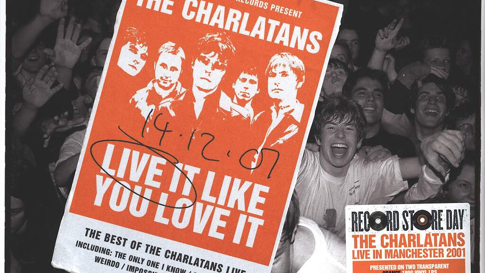 The Charlatans - Live Like You Love It