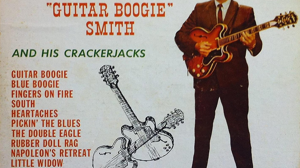 "Arthur ""Guitar Boogie"" Smith And His Crackerjacks ‎– Mister Guitar"