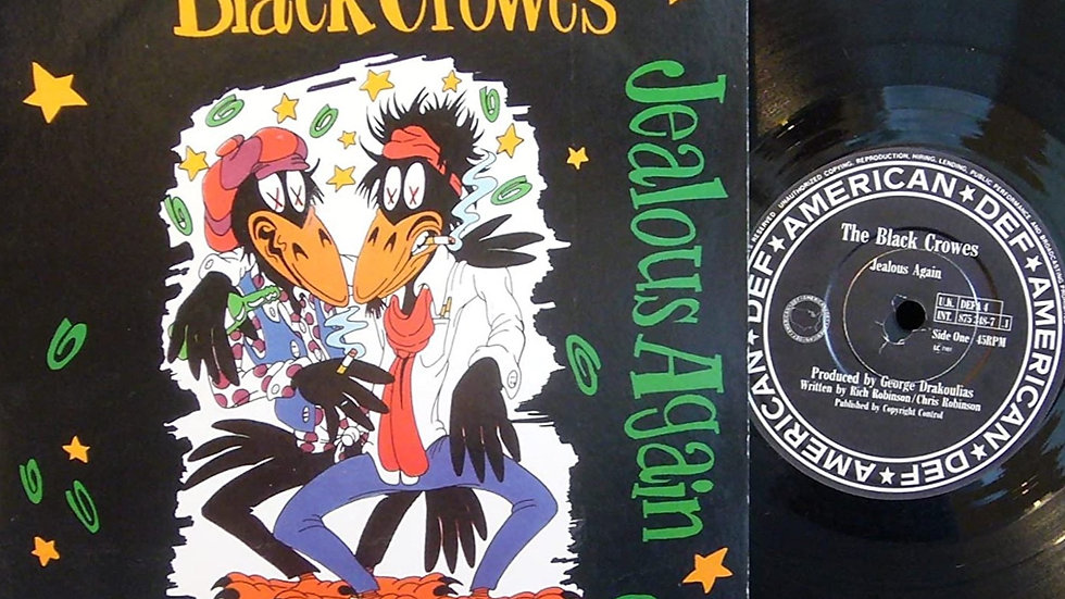 The Black Crownes - Jealous Again