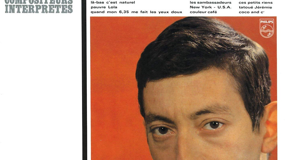 Serge Gainsbourg - Gainsbourg Percussions